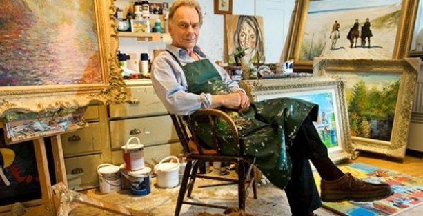 Sahte tablo yapıp satmaktan 15 yıl cezaevinde kaldı, şimdi hayatı film oluyor