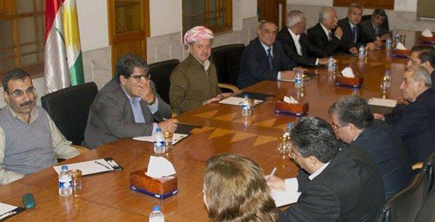 Salih Müslim Barzani ile görüştü