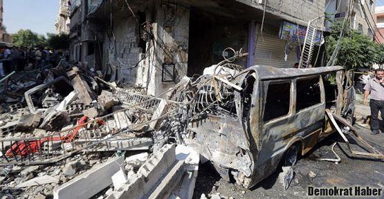 Şam'da Hıristiyan mahallesine bombalı saldırı