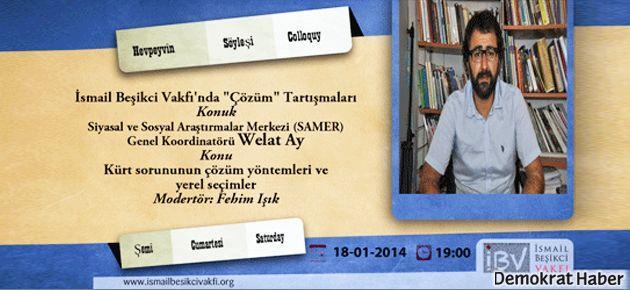 SAMER Genel Koordinatörü ile Kürt sorunu ve yerel seçimler