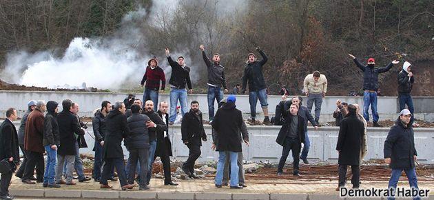 Samsun'da HDK'ye saldıran 41 kişiye dava