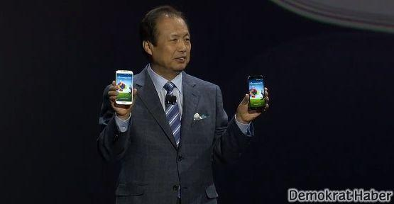 Samsung Galaxy S4 tanıtıldı