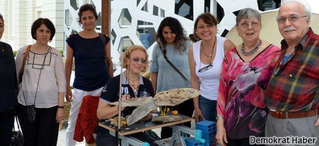 Sanatçılar ve zanaatkarlar Manavgat'ta buluştu
