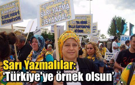 Sarı Yazmalılar: 'Türkiye'ye örnek olsun'