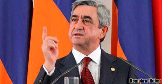 Sarkisyan: Gerekirse Azerilerle savaşırız