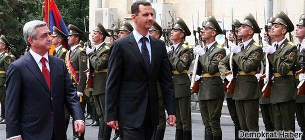 Sarkisyan'dan Esad'a Keseb teşekkürü