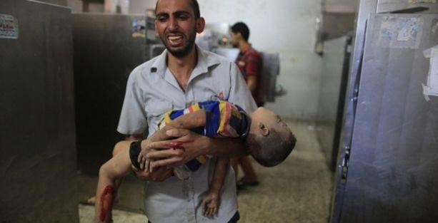 Savaşlar en çok çocukları vuruyor