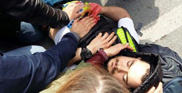 Savcı, Beşiktaş'ta Özgür Altunbilek'i bıçaklayan saldırgan hakkında gözaltı kararı vermedi