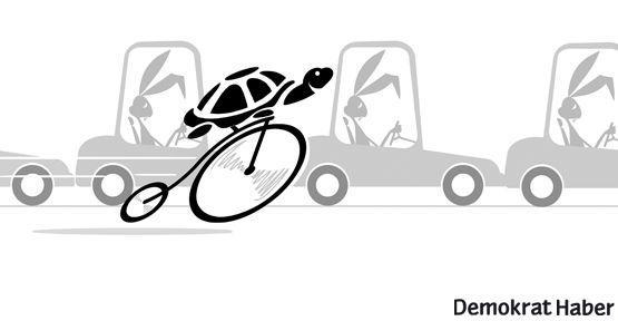 Şehrin at sineği: Bisiklet