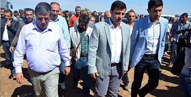 Selahattin Demirtaş Kobani'ye geçti