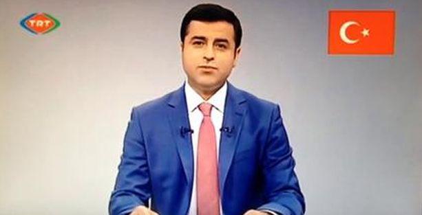 Demirtaş ikinci kez TRT'den halka seslendi