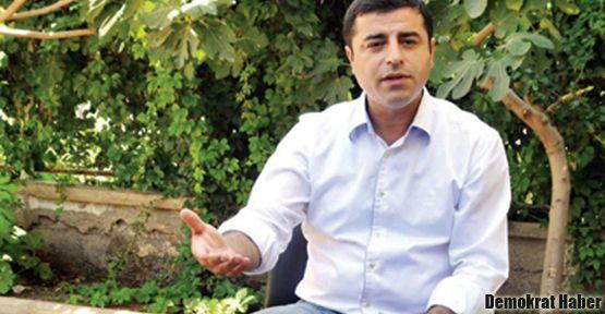 Selahattin Demirtaş'tan Başbakan'a zeytin dalı