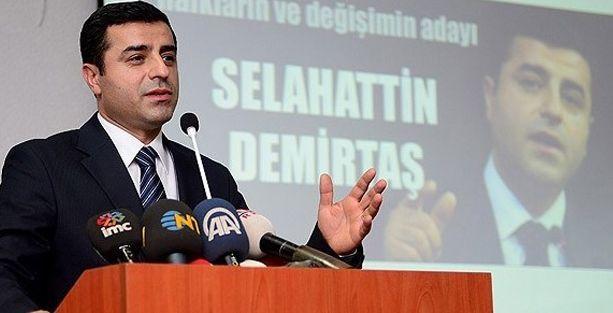 Selahattin Demirtaş'tan sağduyu çağrısı