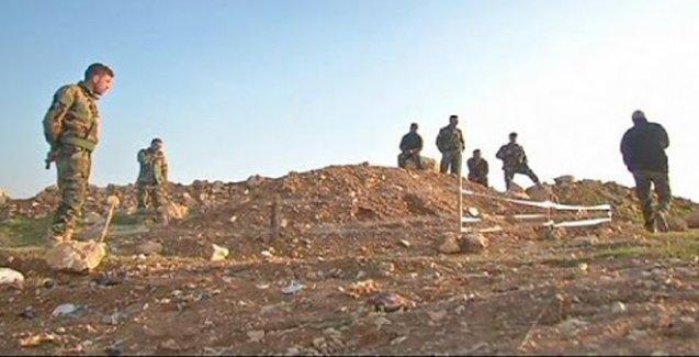 Şengal'de Ezidilere ait toplu mezar bulundu