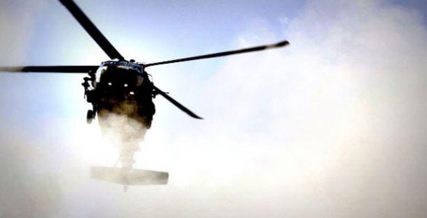 Şengal'de helikopter düştü: 1 ölü, 30 yaralı