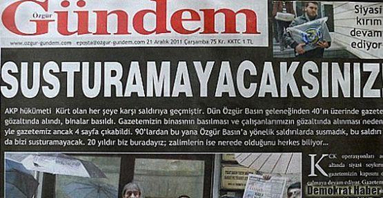 'Serhıldan'lı manşete 1 yıl 3 ay hapis