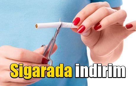 Sigarada indirim
