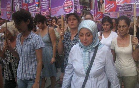Siirt adliyesinde tecavüz protestosu