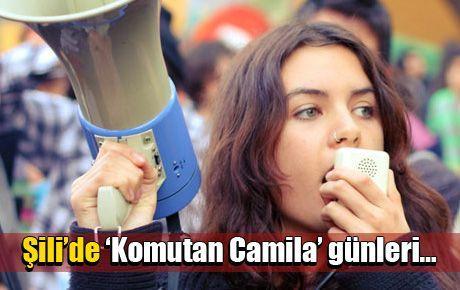 Şili'de 'Komutan Camila' günleri