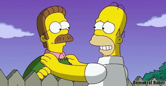 Simpson dizisinde Tanrı kötü gösteriliyor diye RTÜK'ten ceza!