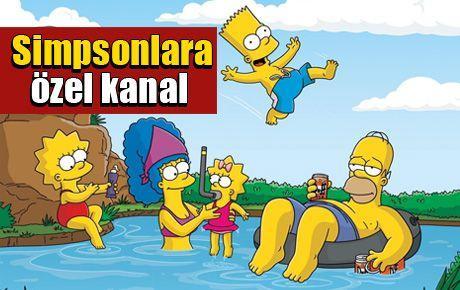 Simpsonlara özel kanal