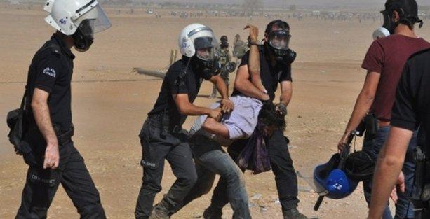 Sınırda gözaltına alınanlara: Neden Kobani'yi geç terk ettiniz?