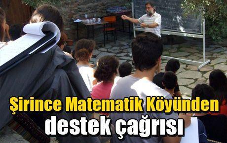 Şirince Matematik Köyünden destek çağrısı