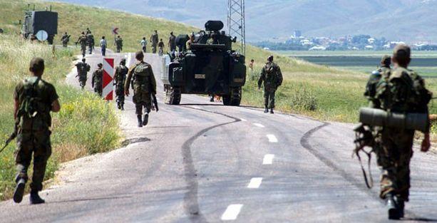 Şırnak, Tunceli ve Bingöl'de askeri operasyon