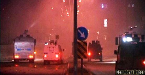 Şırnak'ta olaylı gece