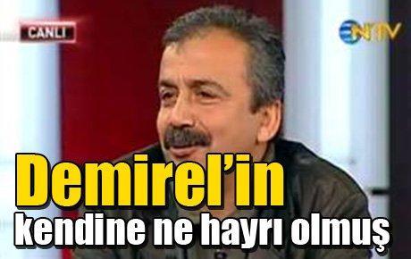 Sırrı Süreyya Önder: Demirel'in kendine ne hayrı olmuş
