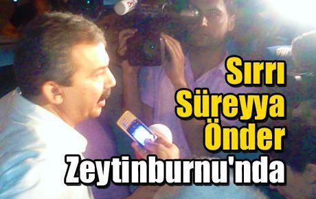 Sırrı Süreyya Önder Zeytinburnu'nda