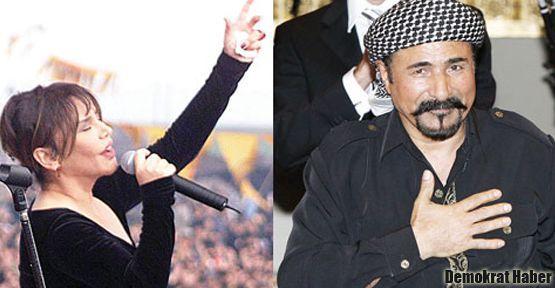 Şivan Perwer ile Sezen Aksu'dan 'barış konseri'