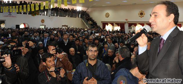 Siverek'te Osman Baydemir'le barış buluşması