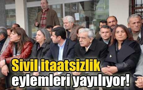 Sivil itaatsizlik çadırı Taksim'de