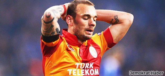 Sneijder, Kopenhag ve Fenerbahçe maçlarında yok