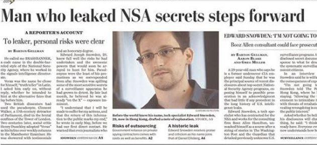 Snowden'ın NSA Belgeleri 2 gazeteye Pulitzer kazandırdı