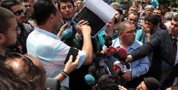 Soma Holding avukatlarına protesto