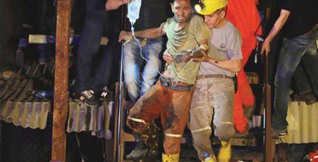 Soma katliamından sağ kurtulan madencilere dava!