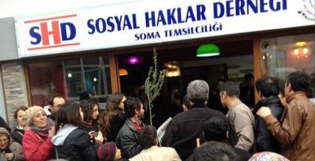 Soma'da Sosyal Haklar Derneği açıldı