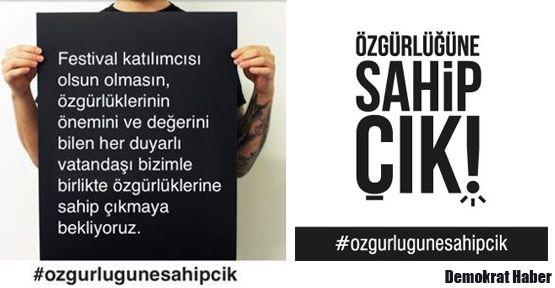 Sosyal medyada #ozgurlugunesahipcik çığlığı!