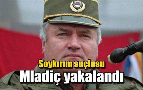 Soykırım suçlusu Mladiç yakalandı