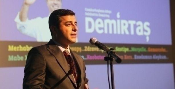 SPoD: Homofobi karşıtı tek aday Demirtaş