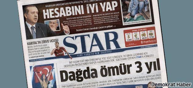 Star gazetesinde üst düzey ayrılık