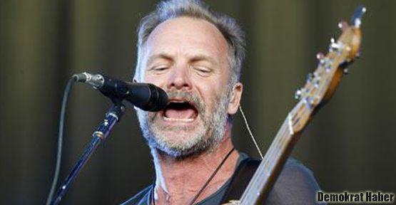 Sting Kasım'da İstanbul'da