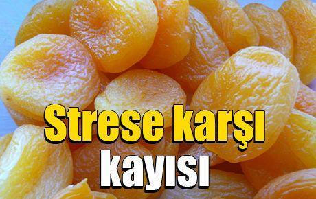Strese karşı kayısı
