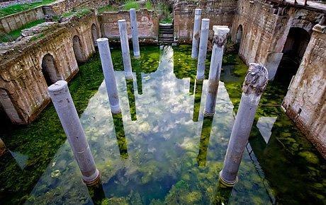 Su içinde Allianoi etkinlikleri