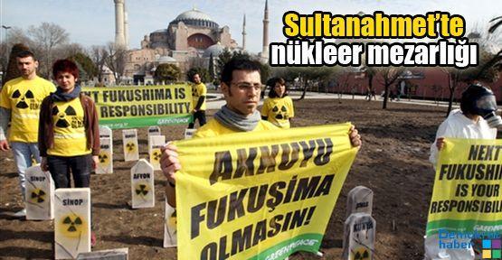 Sultanahmet'te nükleer mezarlığı