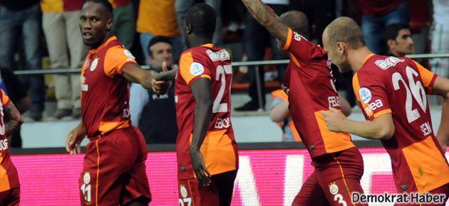 Süper Kupa yine Galatasaray'ın