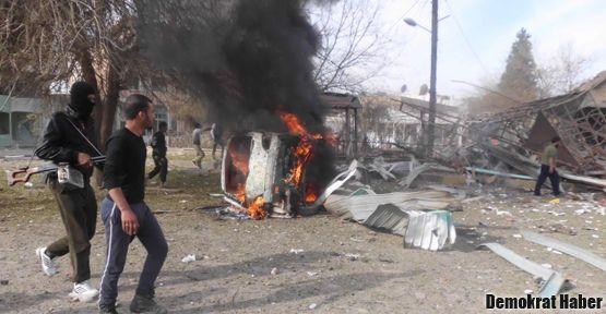 Suriye bombaladı: 3'ü çocuk 6 Kürt öldü
