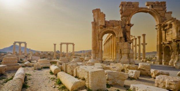 Ermenistan'dan Palmira mesajı